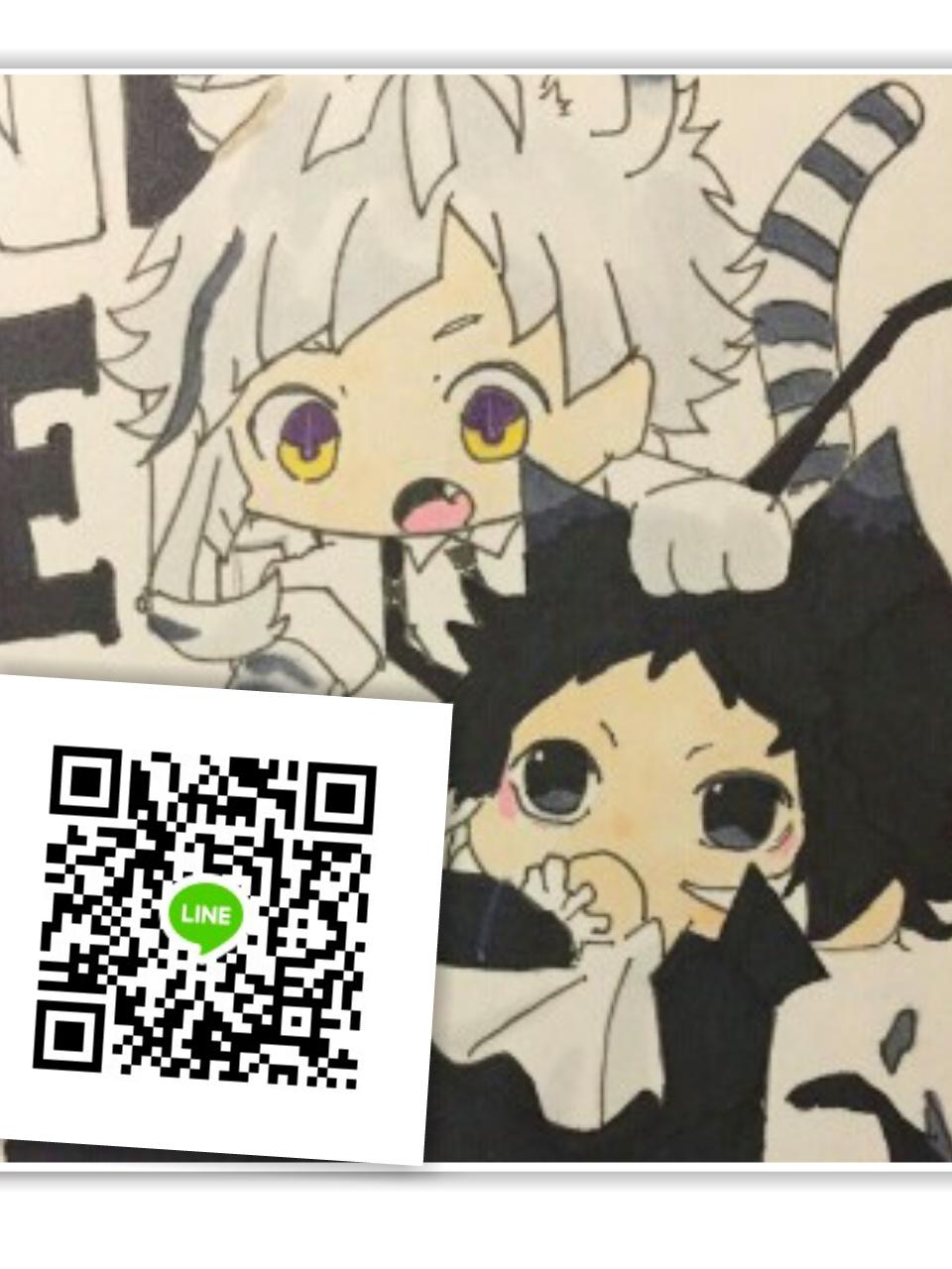 千夏さんのLINE QRコード