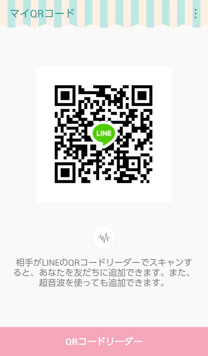 MiyuさんのLINE QRコード